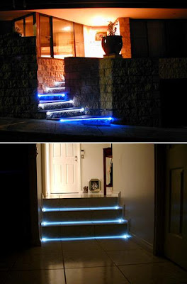 20 Creative and Modern Staircase Lighting Designs (20) 8