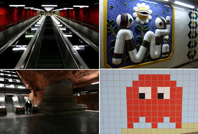 Artistic and Creative Swedish Subway System (21) 21