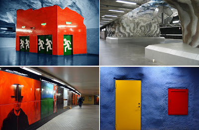 Artistic and Creative Swedish Subway System (21) 7