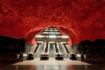 Artistic and Creative Swedish Subway System (21) 8