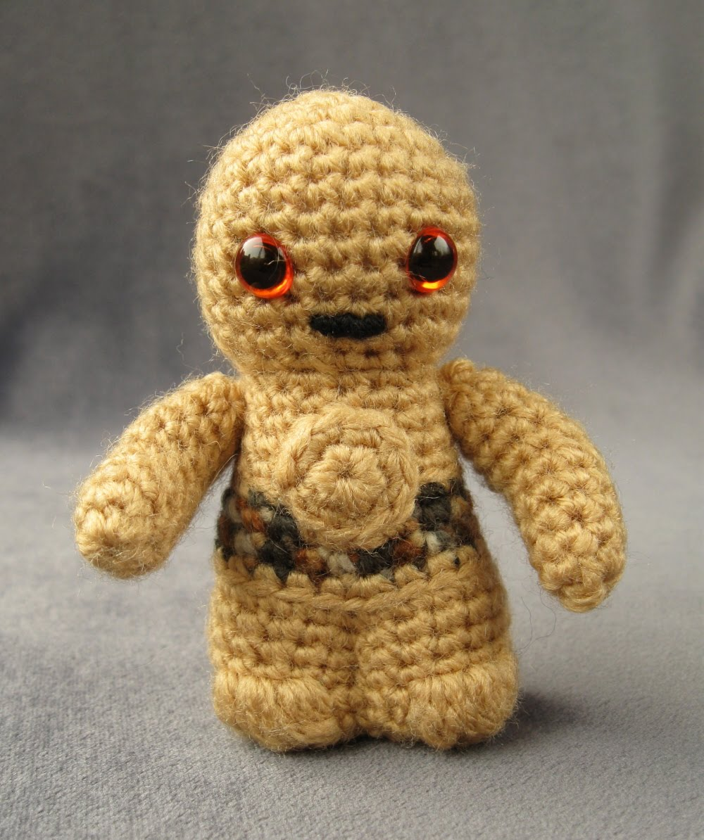 Amigurumi Mani : Crookedbrains: Starwars Mini Amigurumi Patterns.