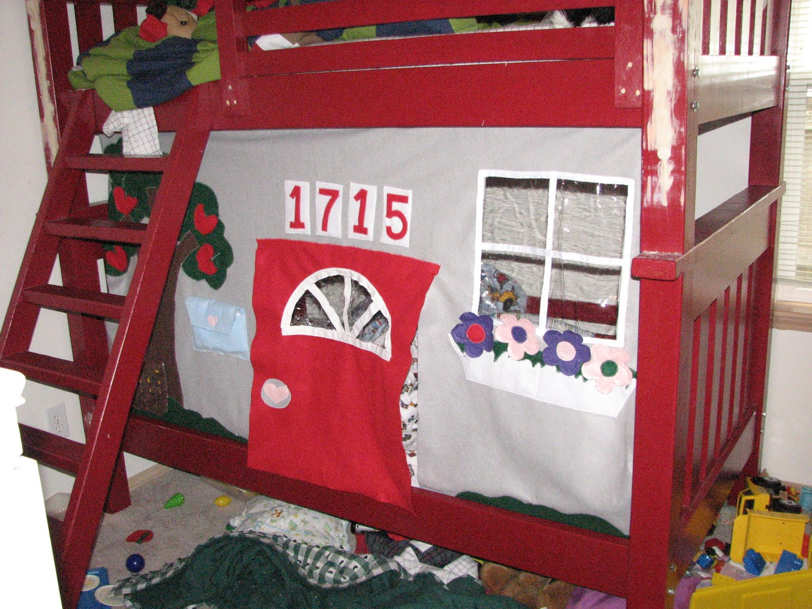 Busy Hands Make Happy Hearts Tent Playhouse for Bunkbed