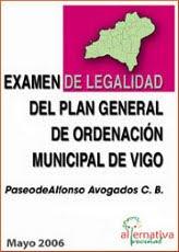 DITAMES XURÍDICOS DO PLAN XERAL DE VIGO (PXOM)...