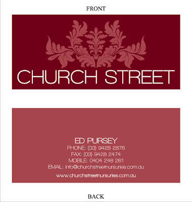 Designs church street business cards for Church business card designs