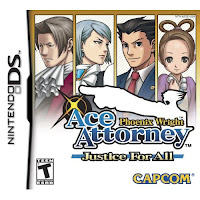 Phoenix Wright: Justice for All is the middle part of a trilogy of games ...