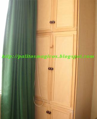 Trabajos en madera y acabados - Mueble para dormitorio ...