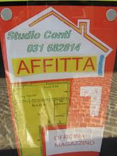 Per la tua attività lavorativa cerchi ..  Studio Conti Silvia .. vende o affitta tel. 031 682814