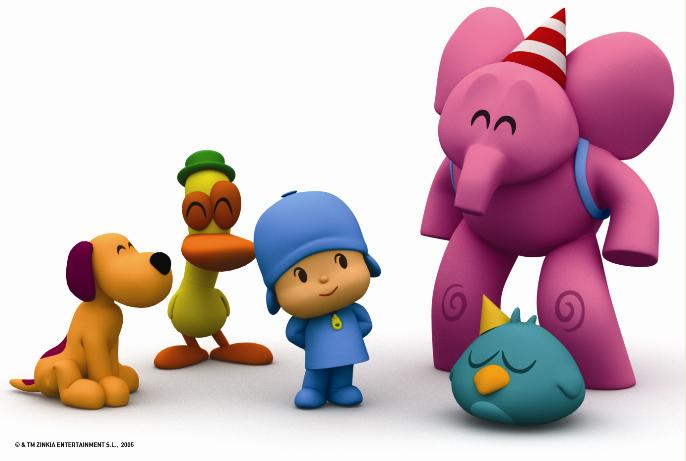 pocoyo grandes pintores