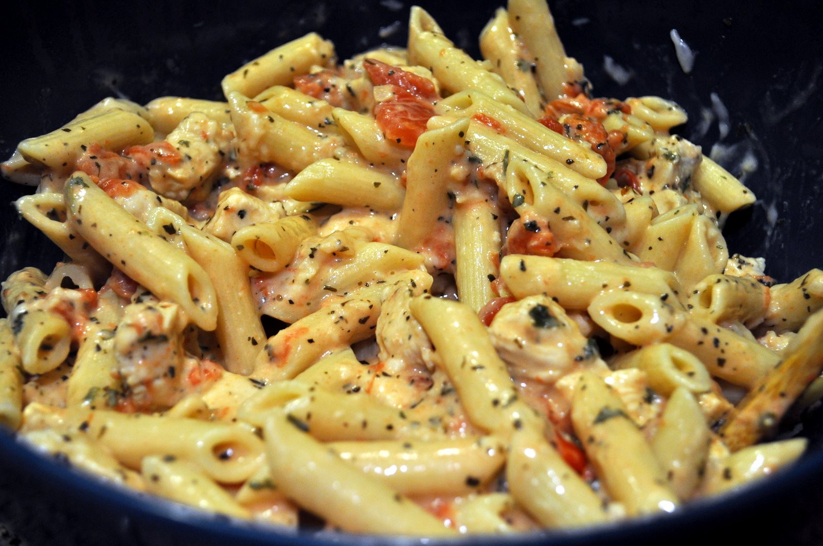 Basil Chicken with Tomato-Alfredo Sauce forecasting
