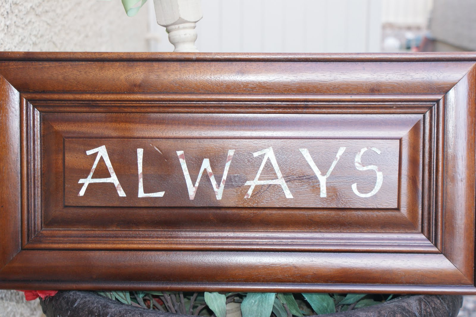 zoo b designs: Home Decor Word Signs $15