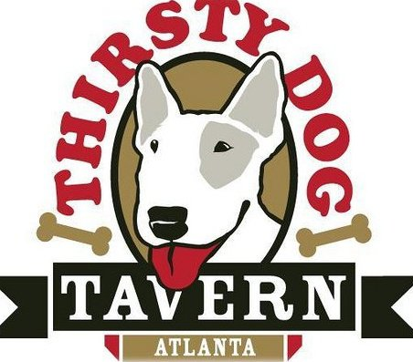 The Thirsty Dog Tavern at Bennett Street and Peachtree Road in south