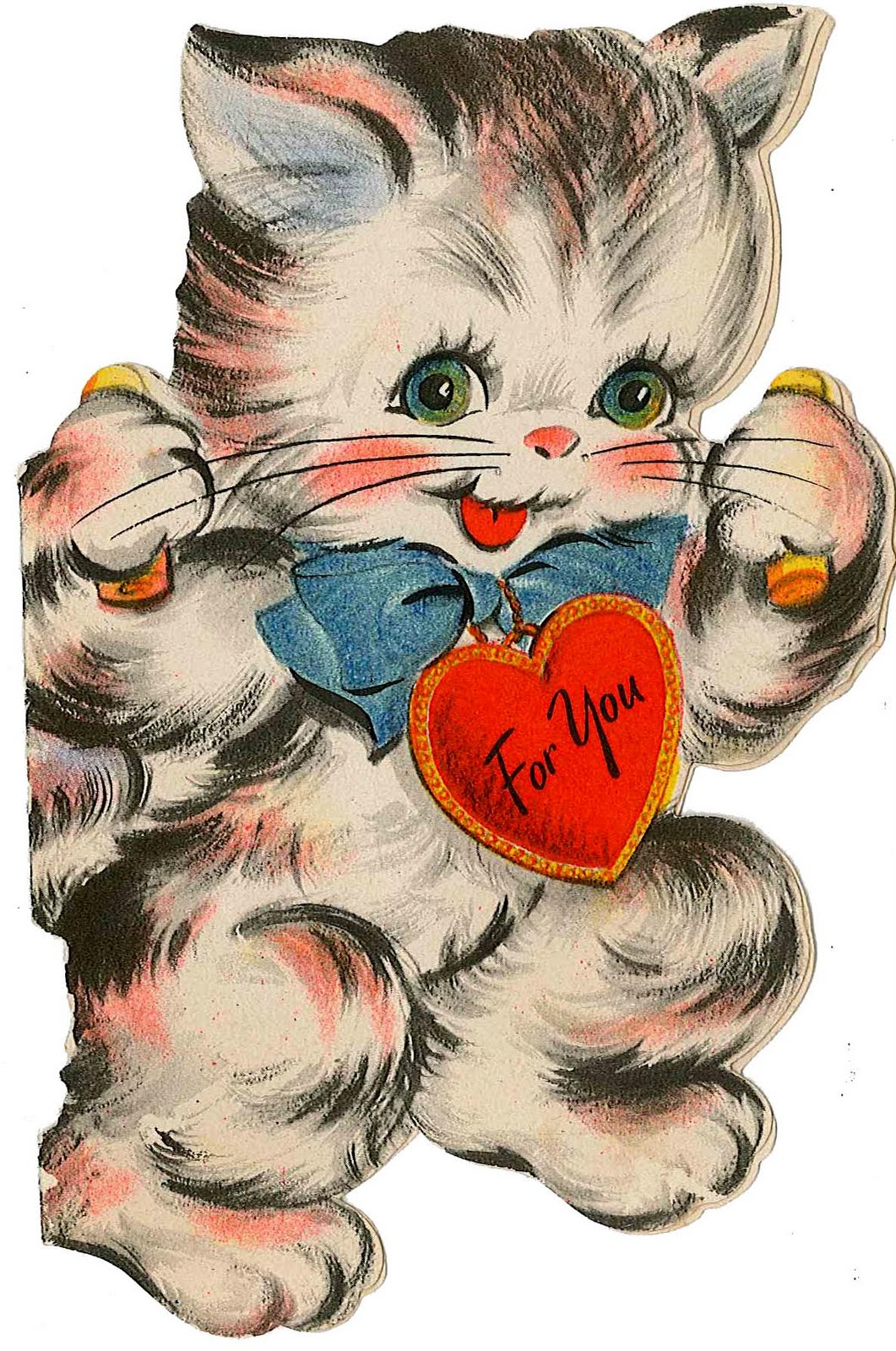 Very Merry Vintage Syle Vintage Valentine Card Images Decor – Vintage Valentines Card