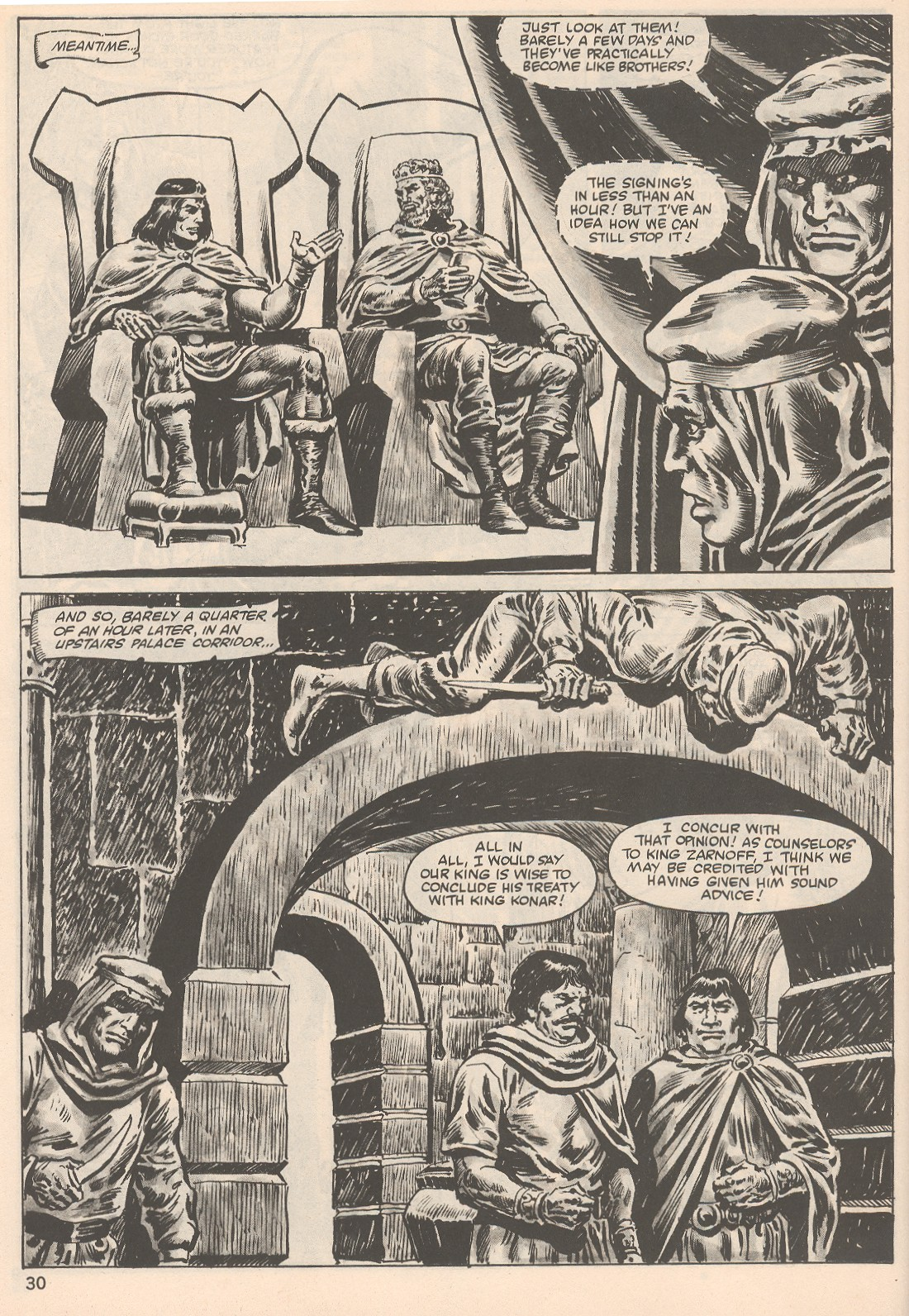 The Savage Sword Of Conan Issue #104 #105 - English 30