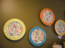 Adorable summer plates!