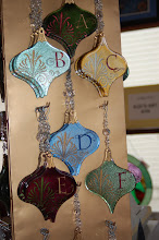 Monogram Ornaments