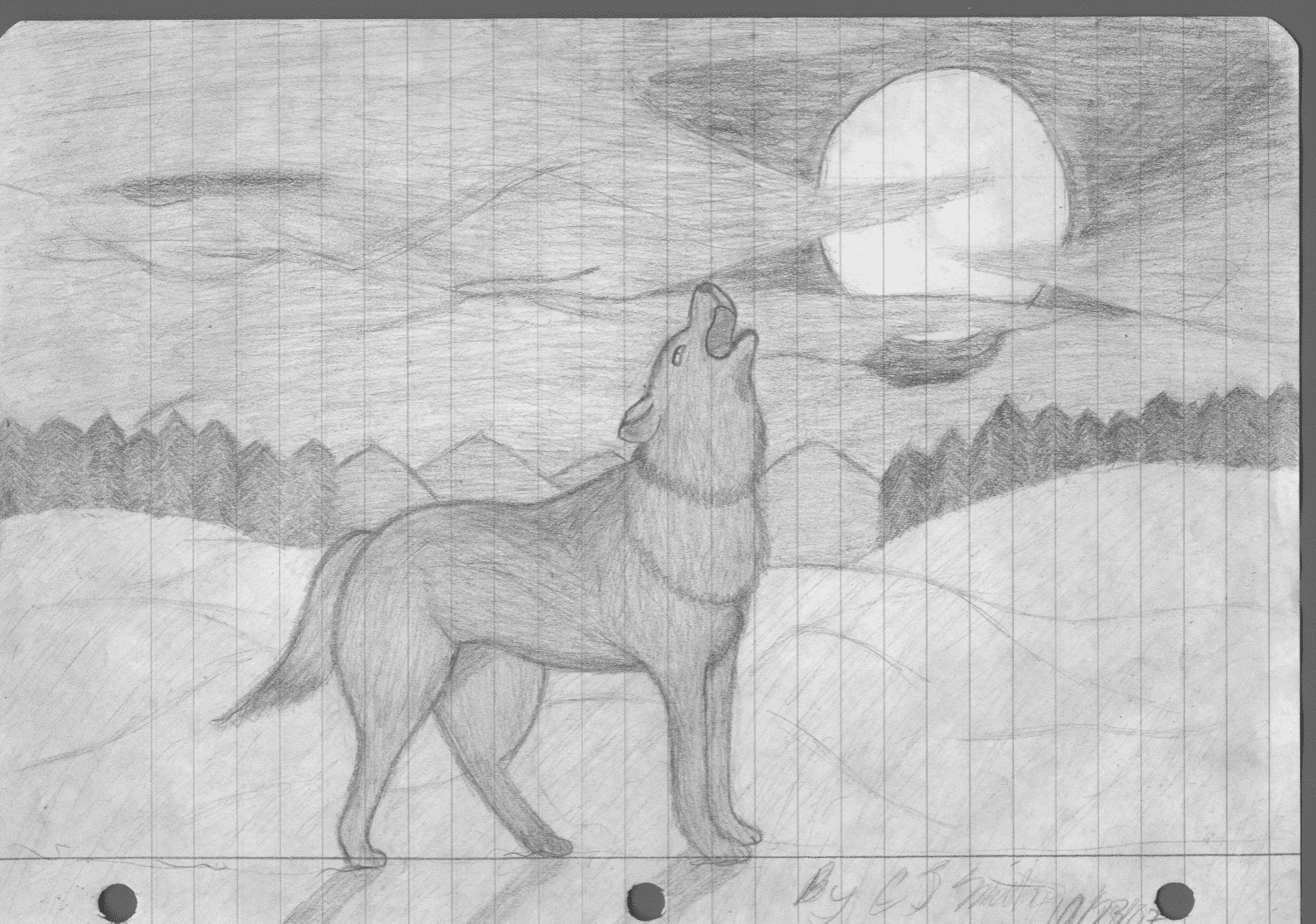 The Schmalien Page Pencil Sketches