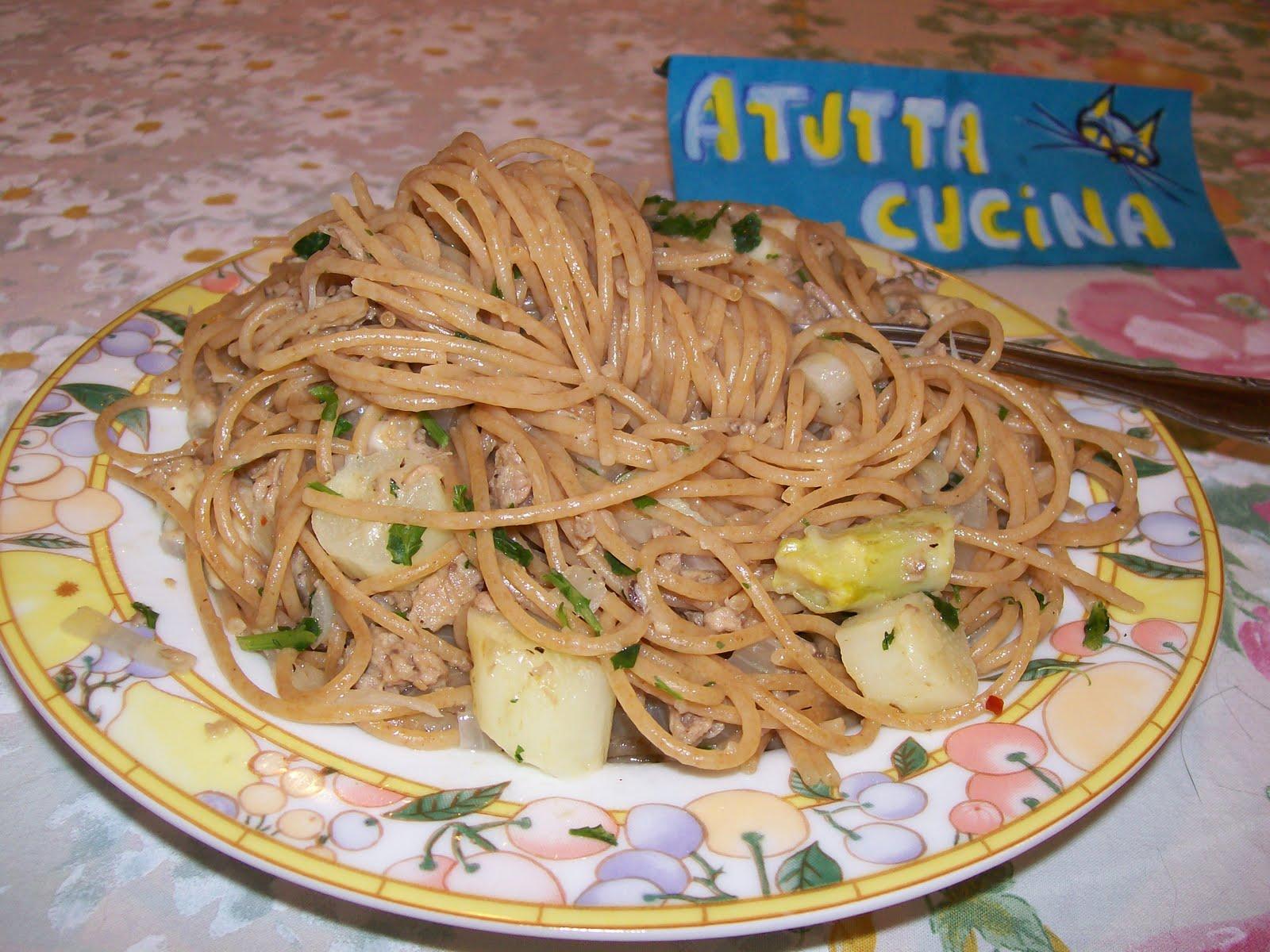 A tutta cucina spaghetti integrali con asparagi e tonno for Cuocere v cucinare