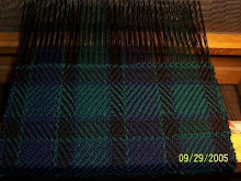 My first weaving project:)