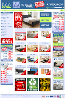 Beds for sale in UK at Bedextra.co.uk
