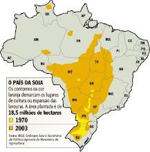A história de progresso e riqueza escrita pelas lavouras de soja no interior do Brasil