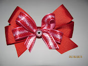 Red Valentines Bows $8.00
