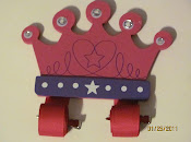 Crown Bow Holder $10.00