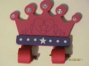 Crown Bow Holder $10.00
