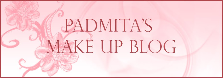 Padmita&#39;s Make Up Blog