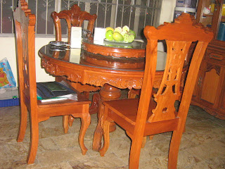 Complete Sets Of Living And Dining Solid Narra Furniture, Newly Acquired,  Owner Leaving For Abroad Offer For Sale At P75,000.00 ( Contact Dong ...