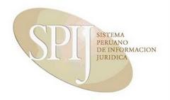 Sistema Peruano de Información Jurídica - SPIJ