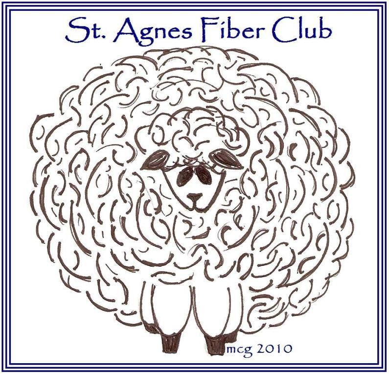 Hilltop Farm: Feast Day: St. Agnes of Rome and the St. Agnes Fiber Club