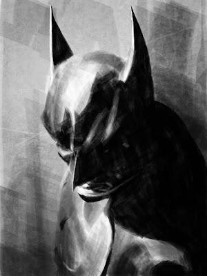 Pensive Batman