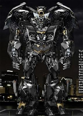 Transformer Batmobile