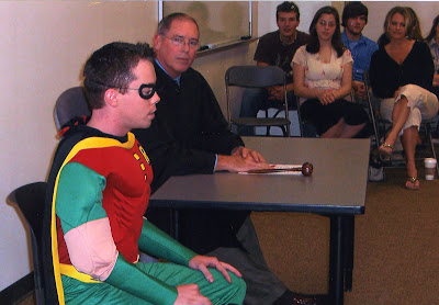 Robin in Court