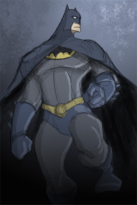Batman pose