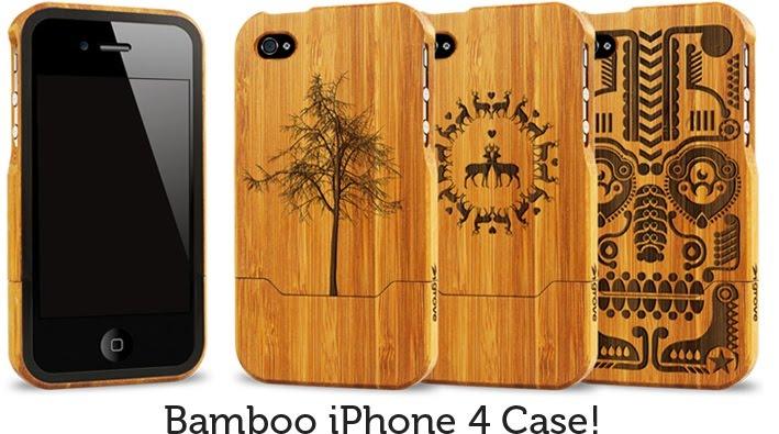 Ashirtbag grove bamboo i pod case for Making bamboo things