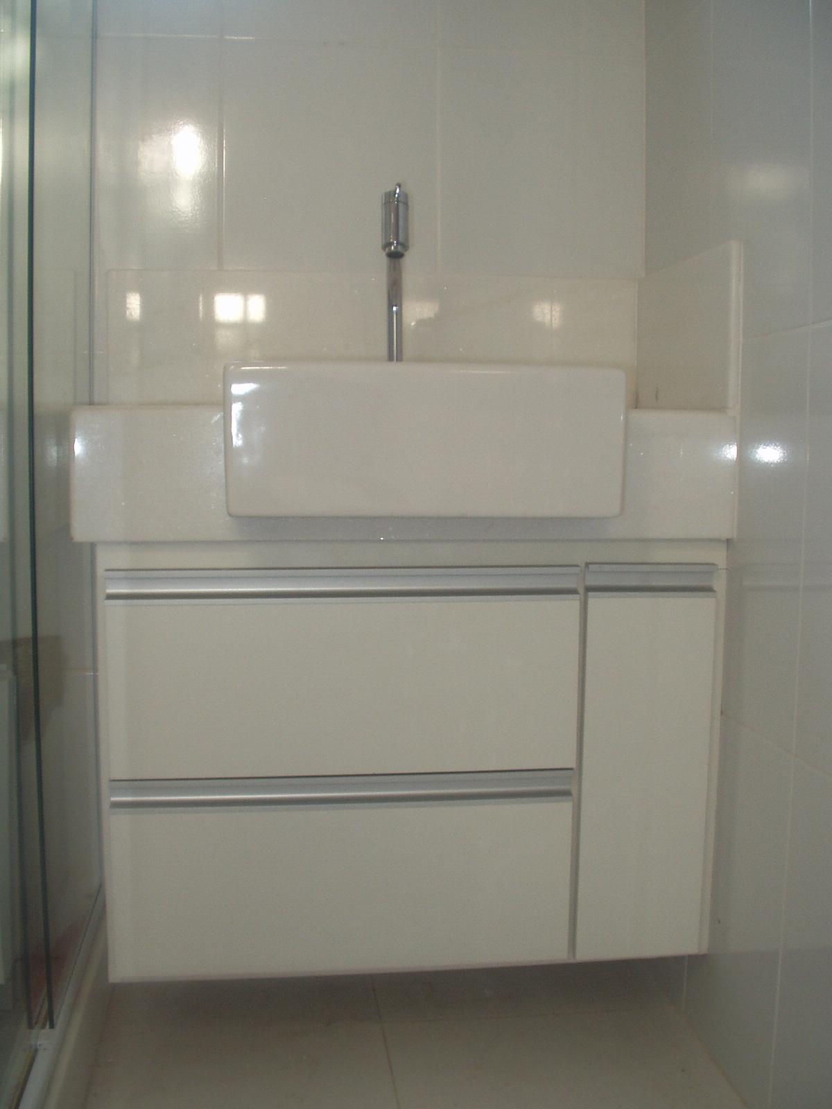 NEP DECORAÇOÊS: Armário de Banheiro em MDF #4C6162 1200 1600