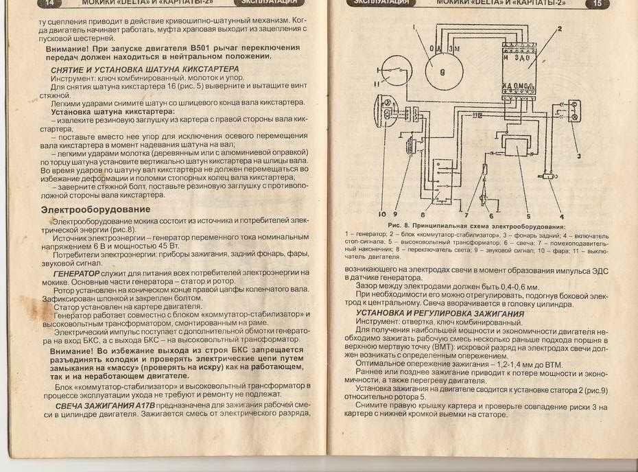 Мопед Верховина 3 Инструкция.Rar