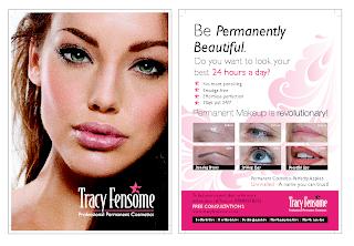 Permanent Make Up – Flyer Design & Print | The Bimbo Blog