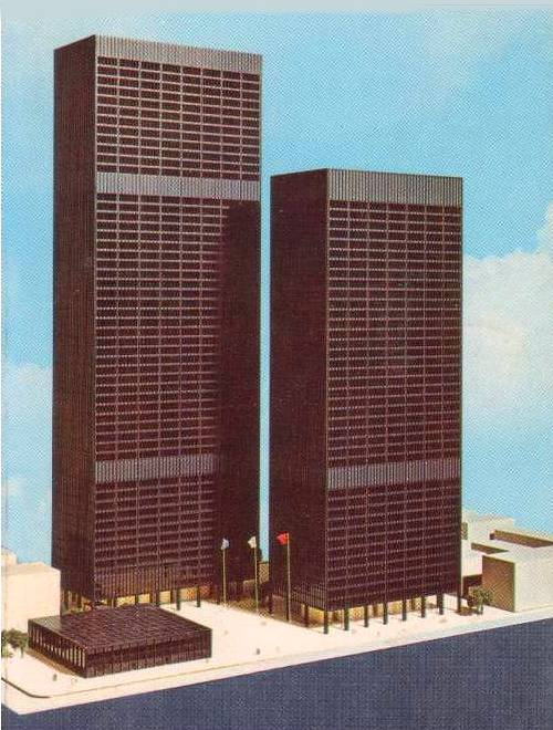 mies model for toronto. Worked in both buildings ...