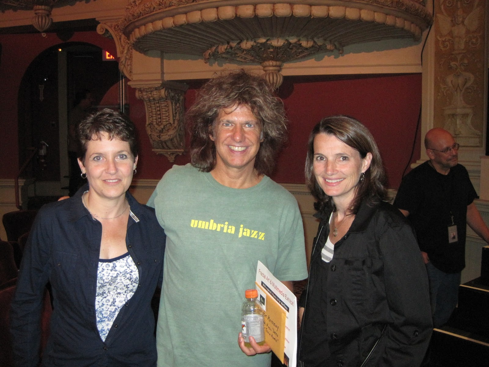 50x50x2010 marianne s year birthday 10 backstage with pat metheny october 10 2010