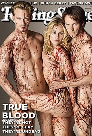 true blood rolling stone poster. true blood rolling stone.