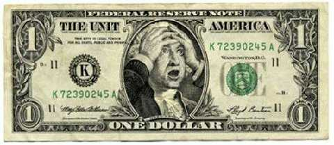 The Treasury Dept. has issued a new dollar bill to reflect the state of the economy.