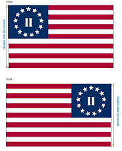Jeff McQueen designs flag with passion!