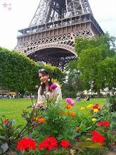 Minha princesa em Paris.