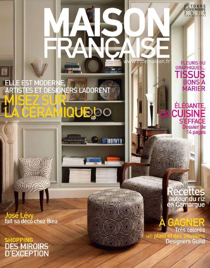 Best Movie 2011: Maison Francaise Octobre Novembre 2010 French Famous Interior  Design Magazines