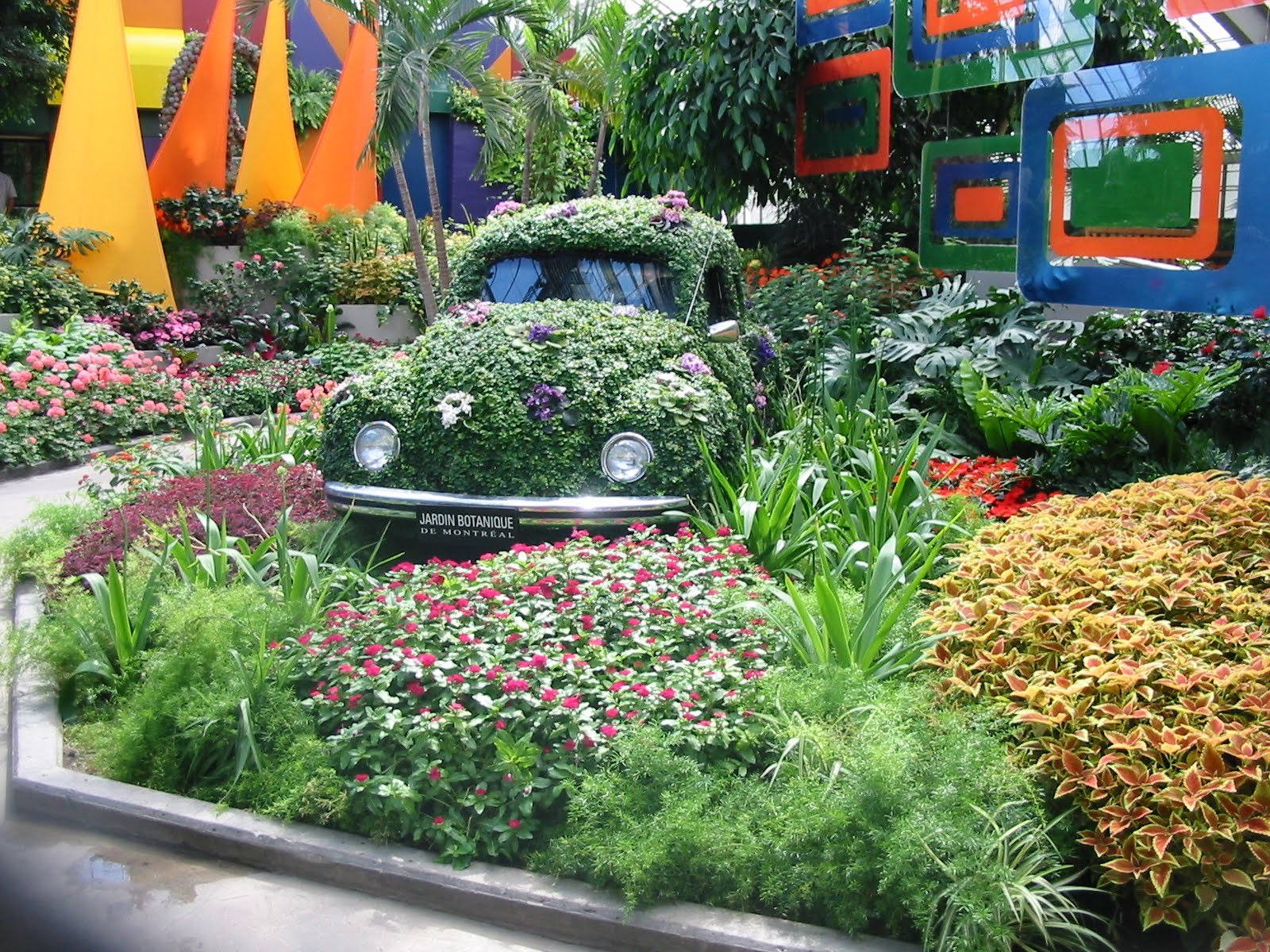 1000 images about vw flower power on pinterest flower - Jardines rusticos ...