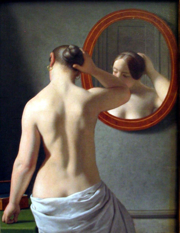 http://2.bp.blogspot.com/_Nuta_CQvImI/TB4xHR_UAJI/AAAAAAAACSQ/z82489IZ3F4/s1600/Woman-Standing-in-Front-of-a-Mirror-by-C-W-Eckersberg.jpg