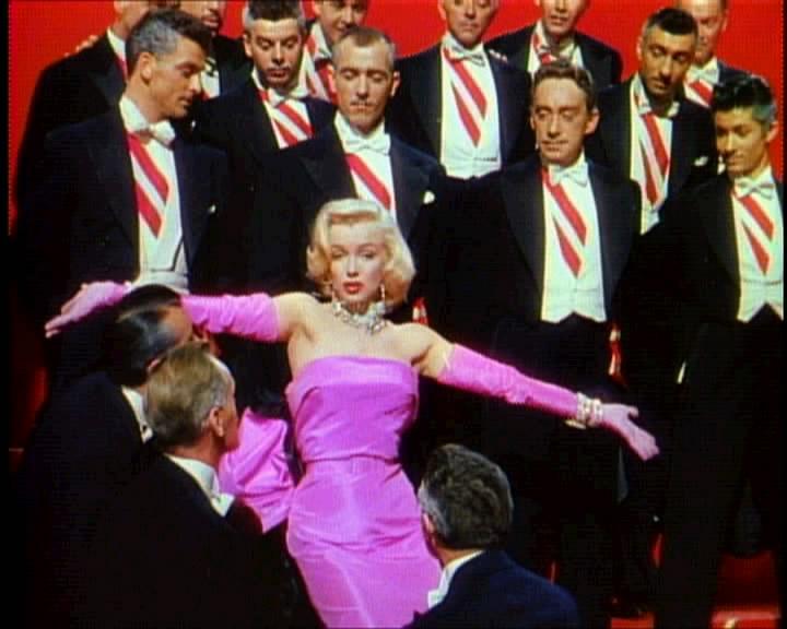 marilyn monroe gentle prefer blondes