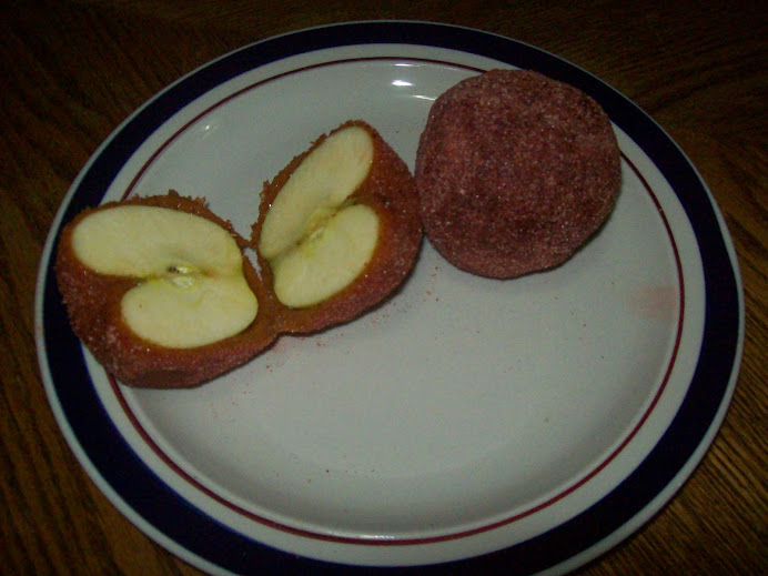 Manzanas cubiertas